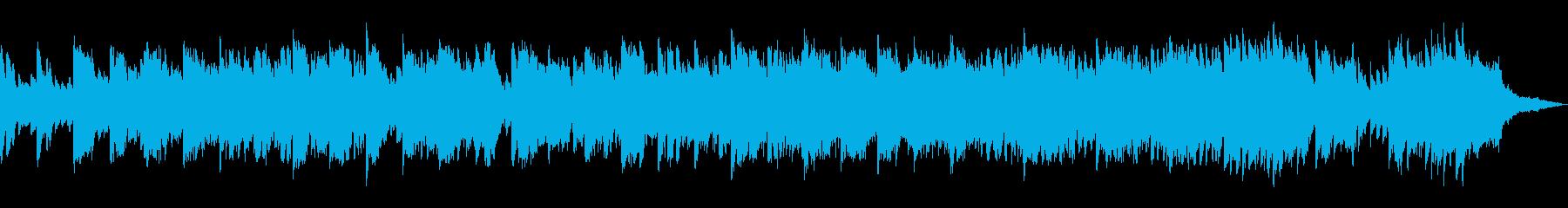 ノスタルジックなピアノ&ストリングスの再生済みの波形