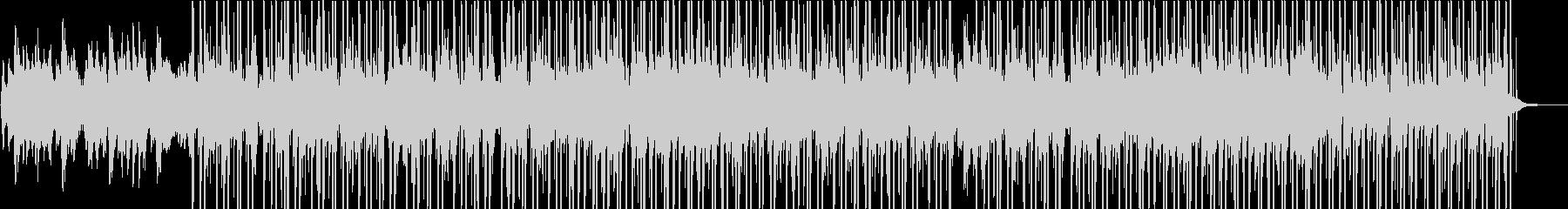 ピアノ&ハープが特徴のチルなトラックの未再生の波形