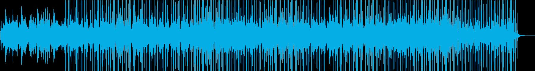 ピアノ&ハープが特徴のチルなトラックの再生済みの波形
