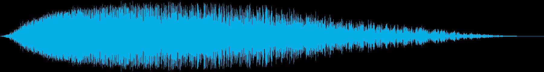 【SF】 宇宙船 エンジン音 帰還の再生済みの波形
