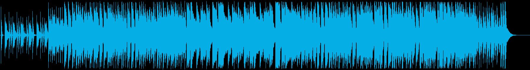 明るい、可愛い、コミカルなテクノポップの再生済みの波形