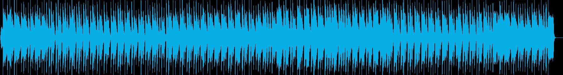 のんびり温かいほのぼのイージーリスニングの再生済みの波形