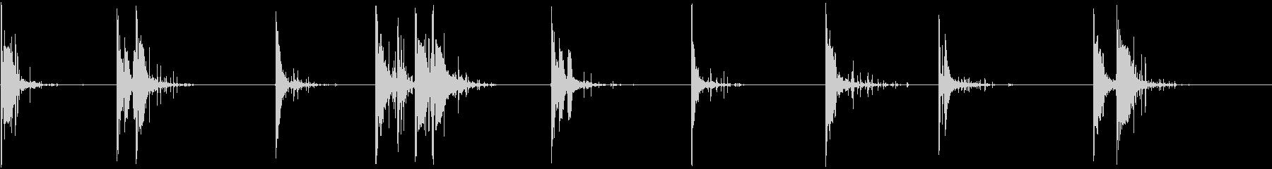 弾丸リコシェット、ダート、複数のシ...の未再生の波形