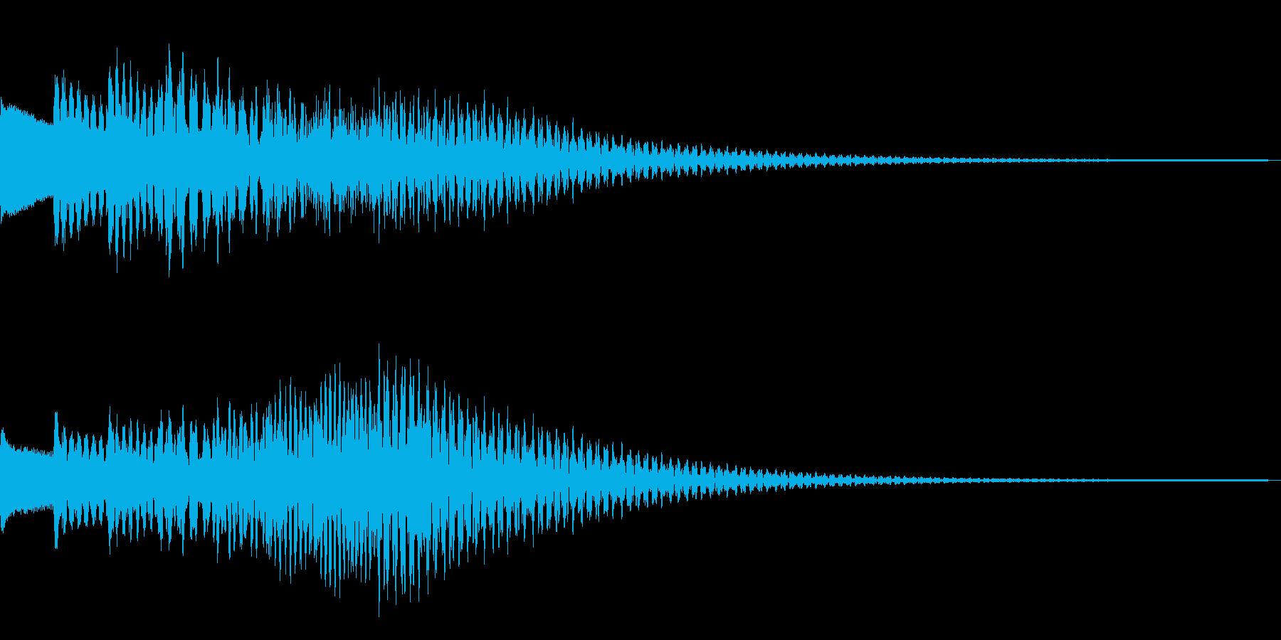 きらりらりんの再生済みの波形