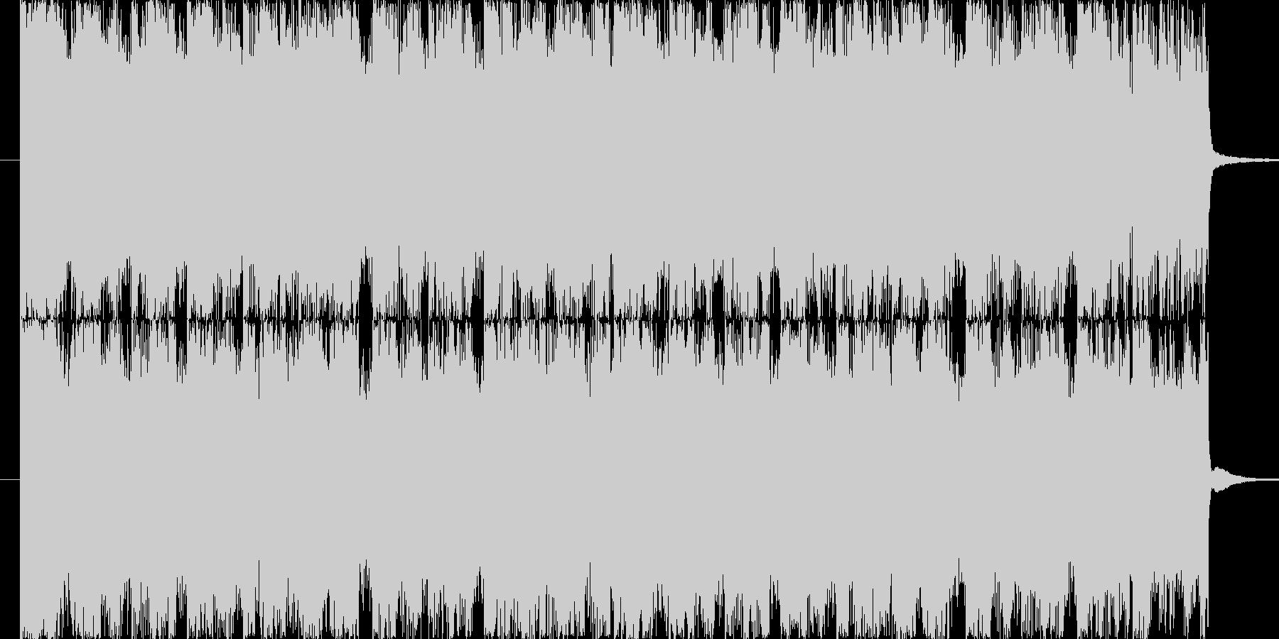 疾走感溢れるBGM(15ver)の未再生の波形