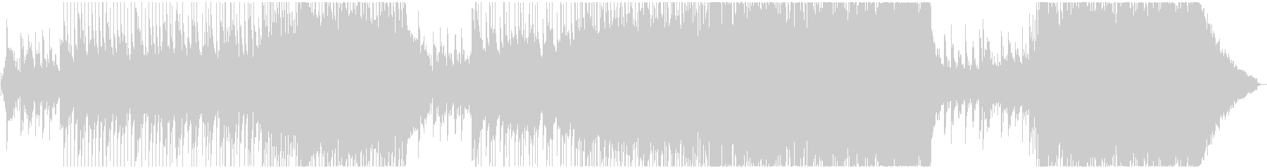 壮大で感動的なストリングスバラードBGMの未再生の波形