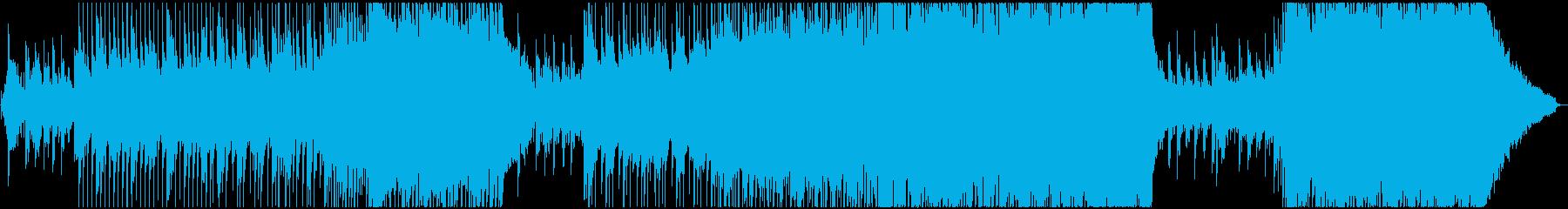 壮大で感動的なストリングスバラードBGMの再生済みの波形