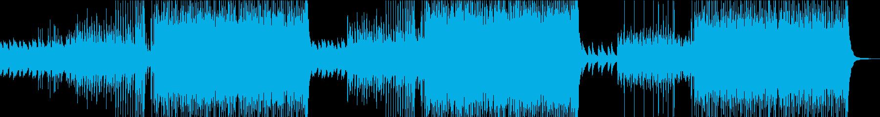 爽快感のあるEDMの再生済みの波形