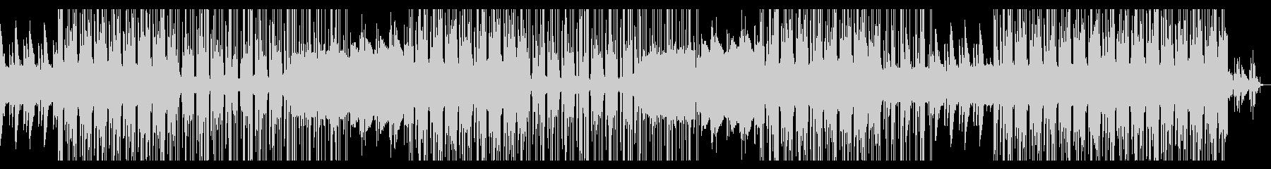 ローファイでお洒落なピアノトラックの未再生の波形
