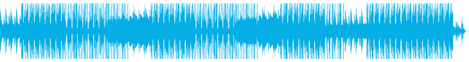 ローファイでお洒落なピアノトラックの再生済みの波形