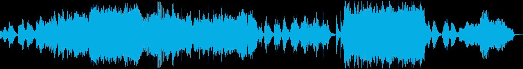 琴が美しい和風のオーケストラバラードの再生済みの波形