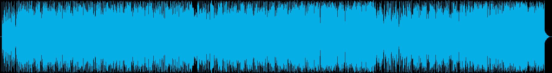 重厚かつ疾走感あるロック好きエレクトロAの再生済みの波形