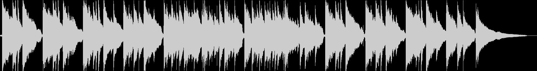 ノストラジックなアコギバラードの未再生の波形