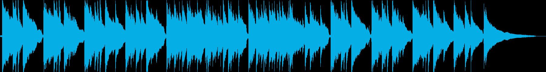 ノストラジックなアコギバラードの再生済みの波形