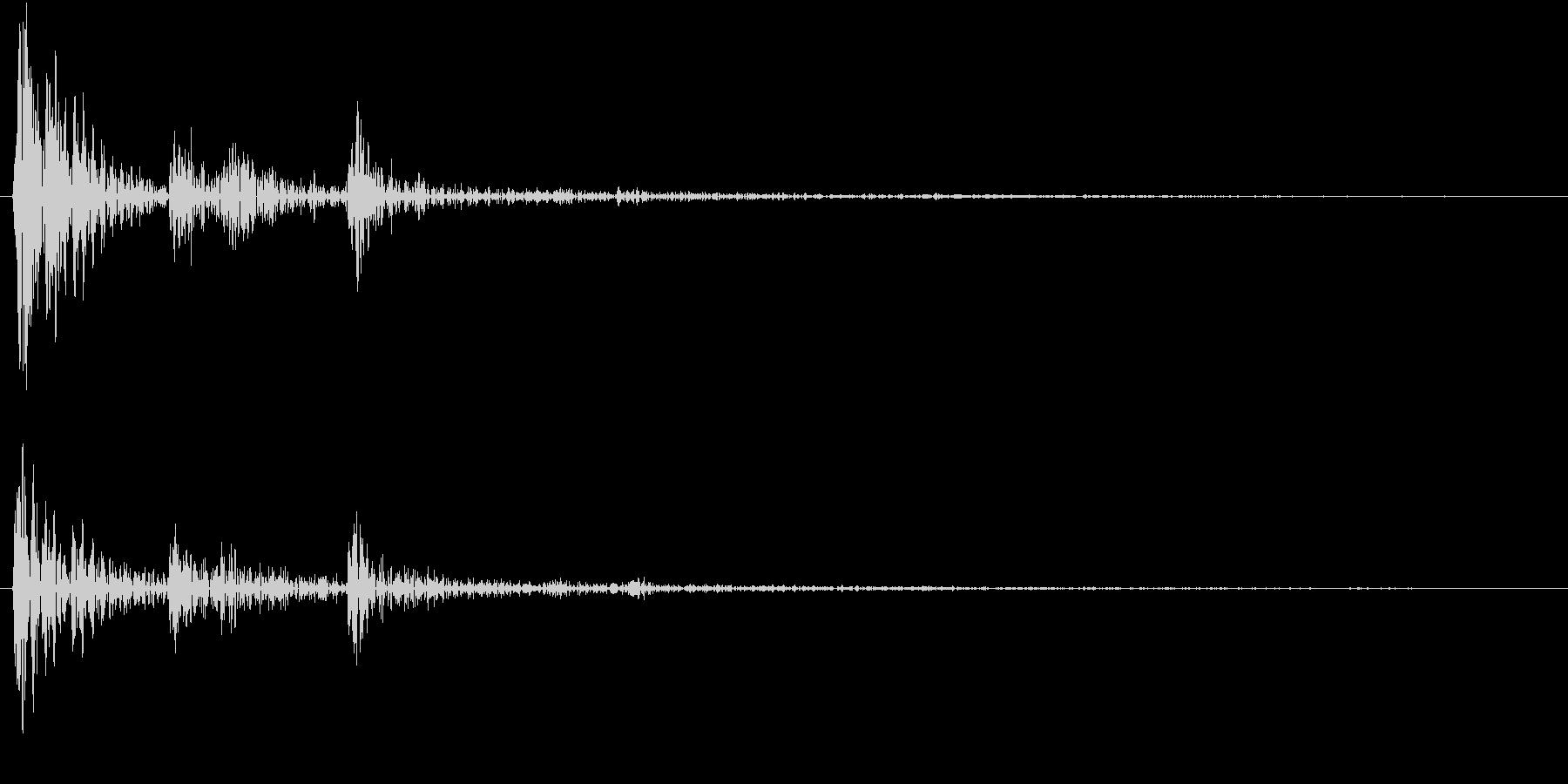 【生録音】お箸の音 10 つまむ・取るの未再生の波形