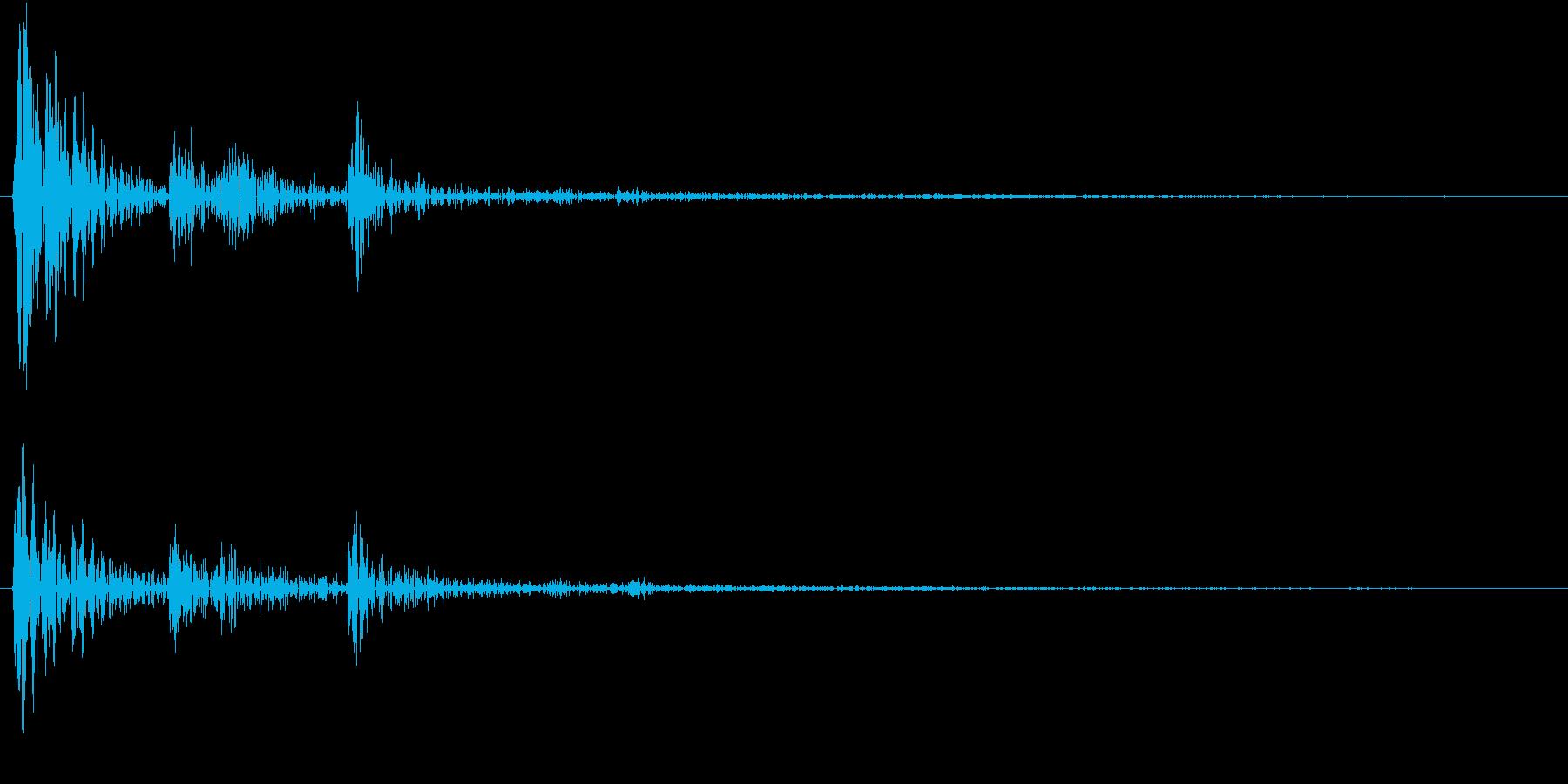 【生録音】お箸の音 10 つまむ・取るの再生済みの波形