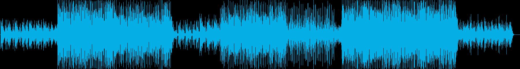 ストリングス入りノリの良いEDMの再生済みの波形