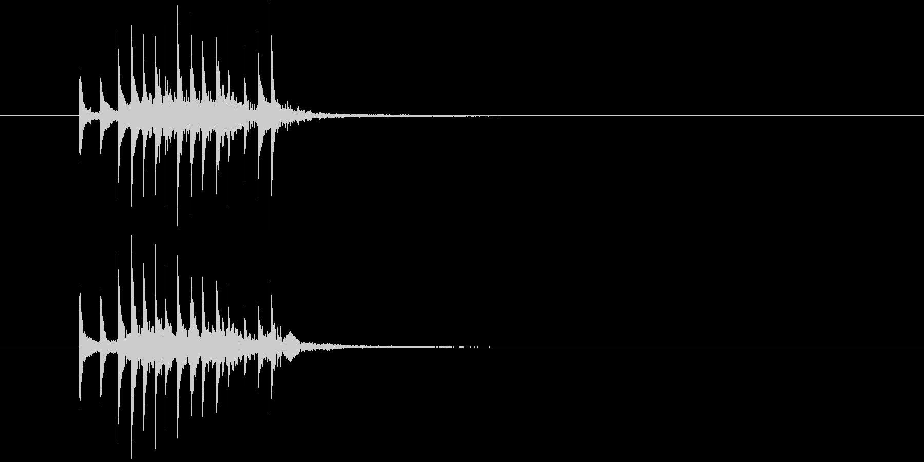 場面展開1(シロフォン)の未再生の波形