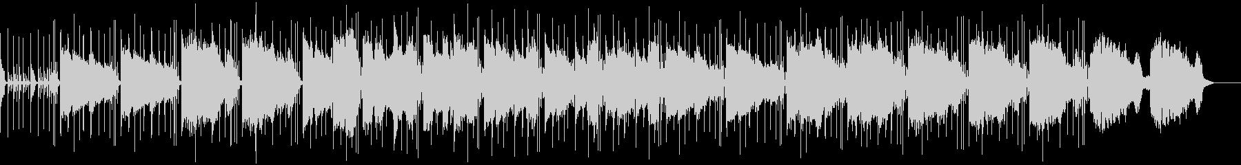 ブルーなジャズのBGMの未再生の波形