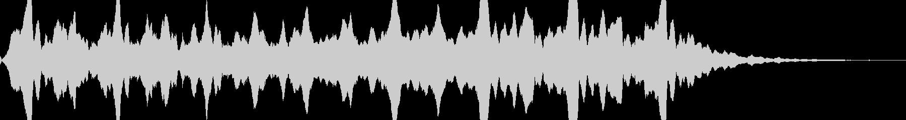 サイレン(警報・アラーム)の未再生の波形