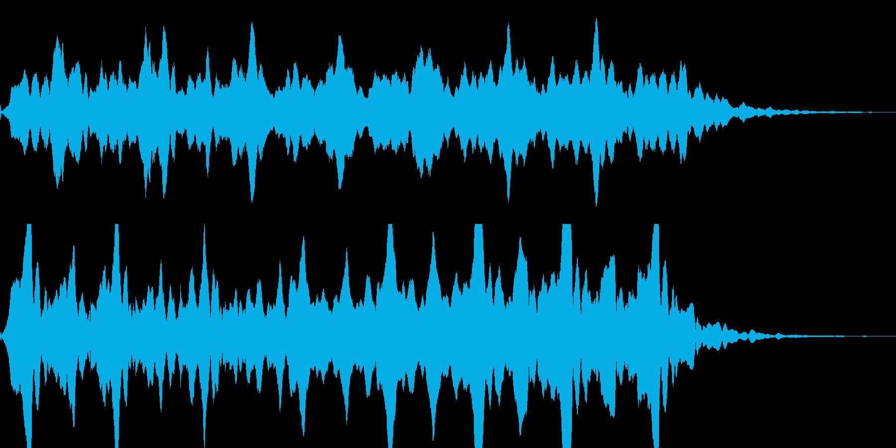 サイレン(警報・アラーム)の再生済みの波形