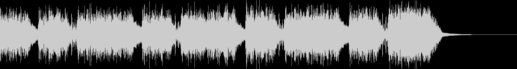 エネルギッシュ・ロックなサウンドロゴ11の未再生の波形