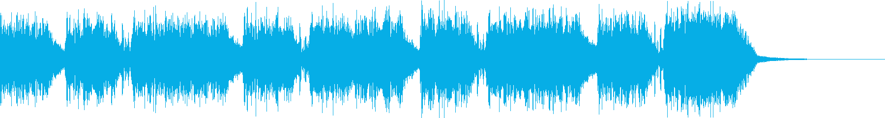 エネルギッシュ・ロックなサウンドロゴ11の再生済みの波形