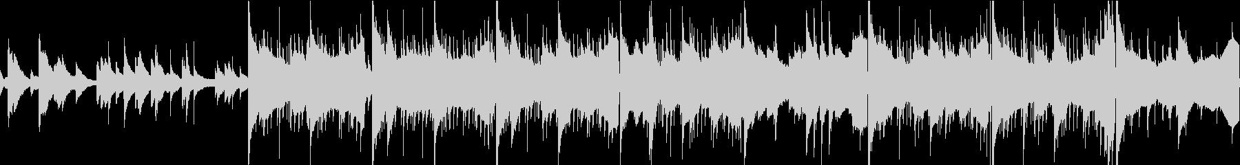 カフェ・日常 ジャジーなループ可チルSの未再生の波形