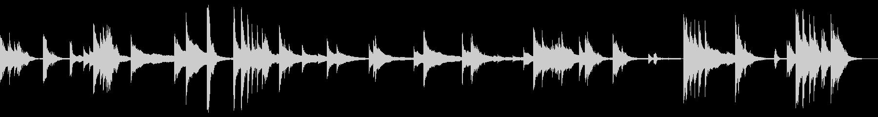 ブラスハンドベル:リンギング、フォリーの未再生の波形