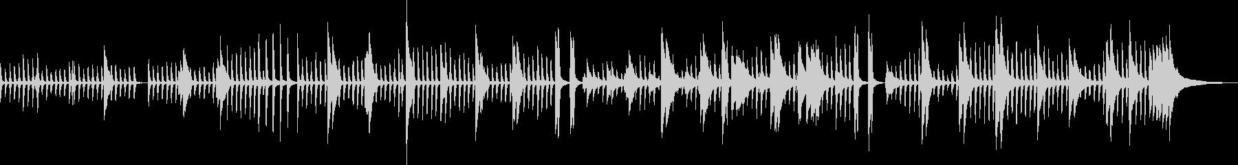 オシャレ・ピアノ・幻想的・BGM・雪の未再生の波形