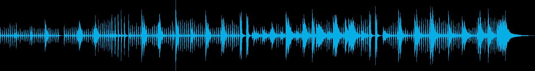 オシャレ・ピアノ・幻想的・BGM・雪の再生済みの波形