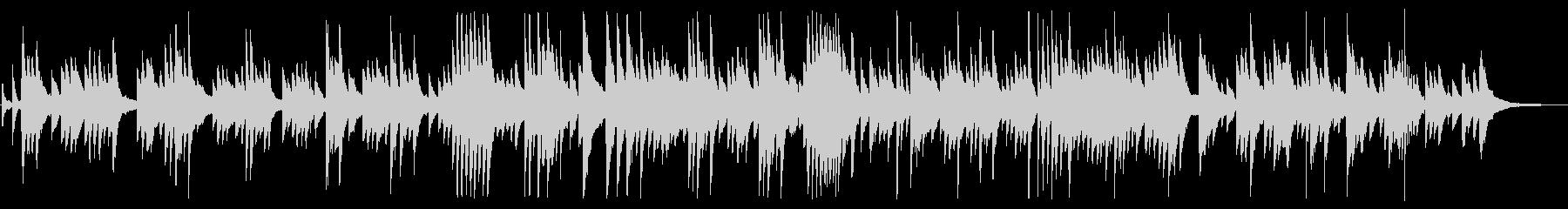 悲しげでしっとりしたピアノBGMの未再生の波形