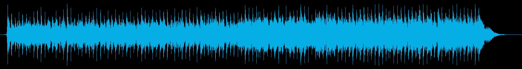 アップテンポで軽快な伝統的フォークの再生済みの波形