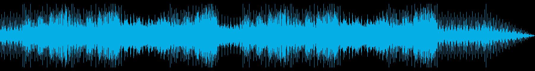 ゆったりとしたインストの再生済みの波形