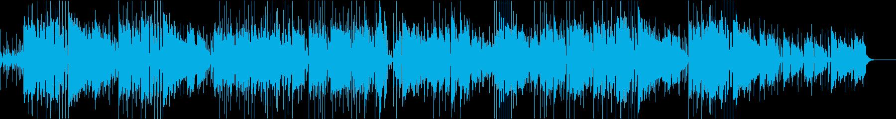 ダークヒーローのジャズロックの再生済みの波形
