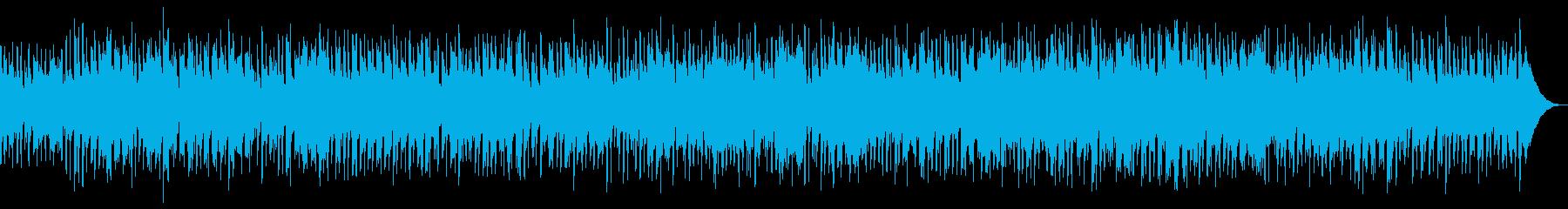 心温まるアコースティックベースのト...の再生済みの波形