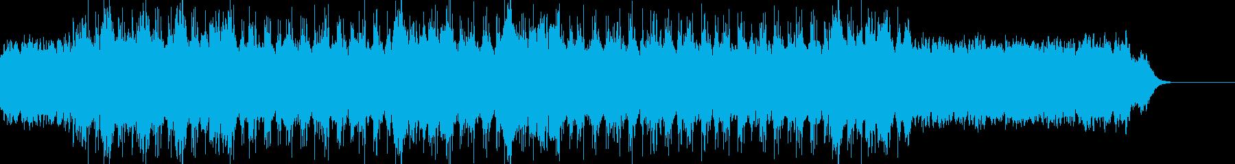 心が浄化されるようなアンビエント曲の再生済みの波形