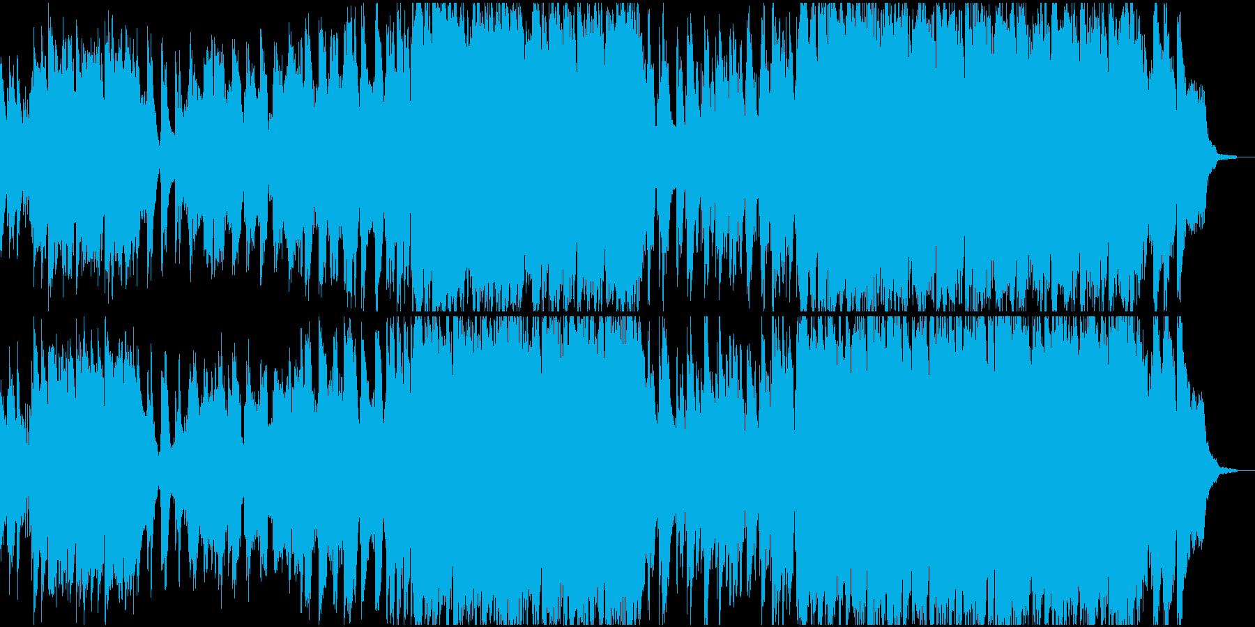 ケーナ生演奏 儚い花のイメージの笛の音楽の再生済みの波形