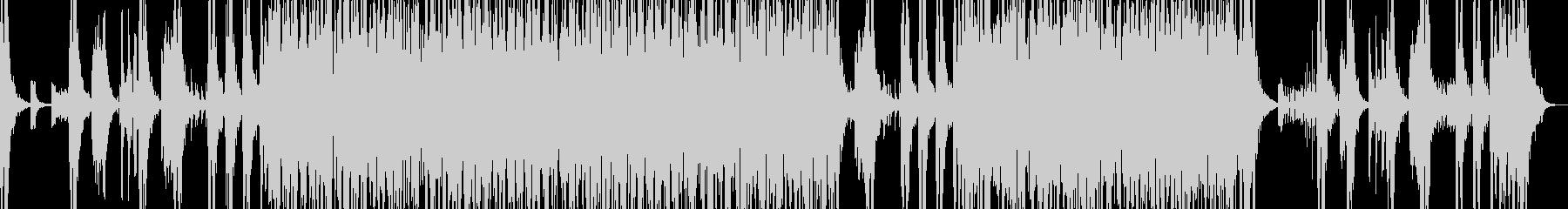 和太鼓等のリズムアンサンブルの未再生の波形