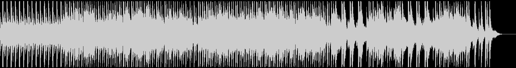 ピッチカートとかわいいマリンバのBGMの未再生の波形