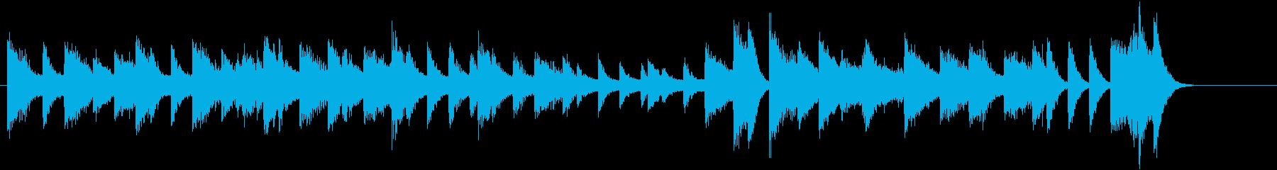 きよしこのよるモチーフのピアノジングルCの再生済みの波形