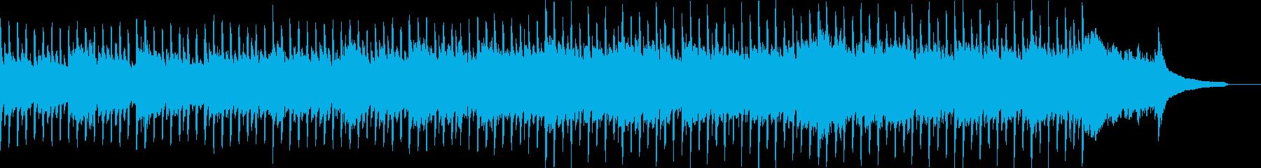 企業VP系51、爽やかピアノ4つ打ちbの再生済みの波形