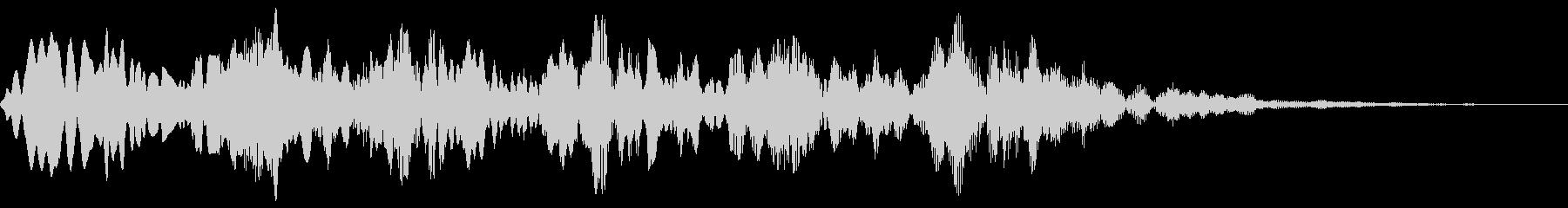 ピロピロ(やられた 倒れる コミカル)の未再生の波形