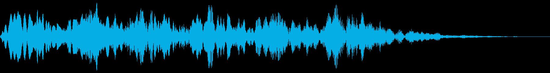 ピロピロ(やられた 倒れる コミカル)の再生済みの波形