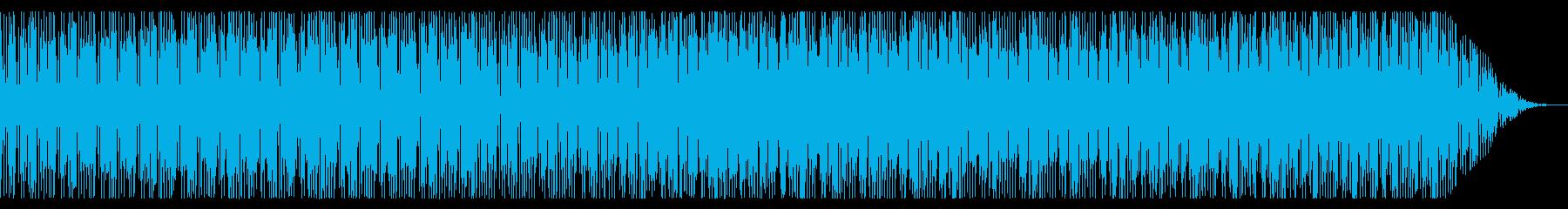 トロピカルな雰囲気のレゲエBGMの再生済みの波形