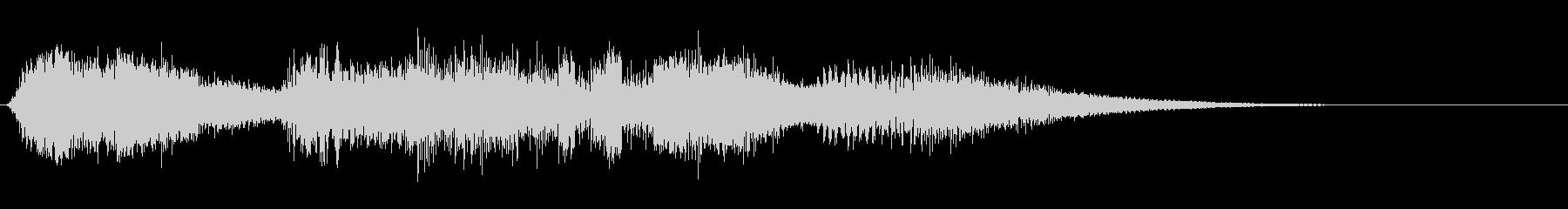 電波ノイズ、エイリアンの通信などにの未再生の波形
