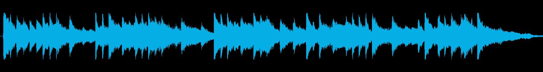 ピアノで奏でるエピローグの再生済みの波形