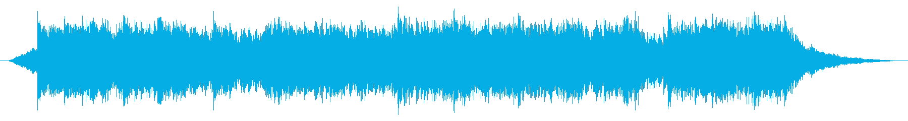 A song of a sad and suspicious scene's reproduced waveform