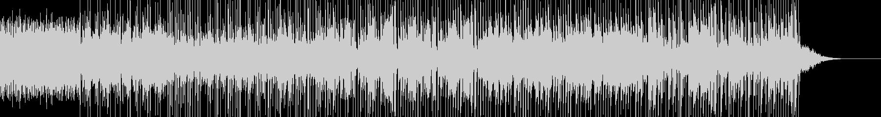 幻想的で怪しく切ない感じのBGMの未再生の波形