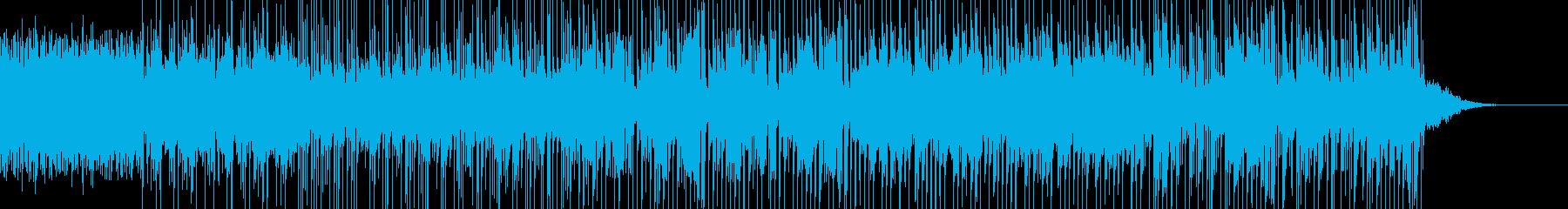 幻想的で怪しく切ない感じのBGMの再生済みの波形